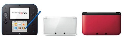 Nintendo Repairs - 3DS, 3DS XL & 2DS